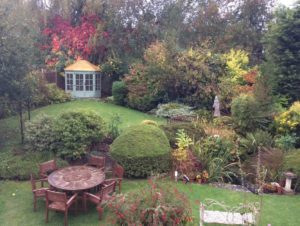 Mannings Heath autumn garden